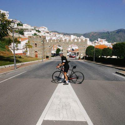 Cycling to Moclinejo | La Zahurda